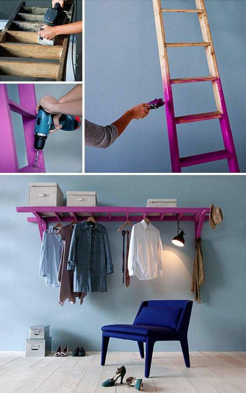 20 id es de rangements astucieux faire vous m me page 2 sur 3 des id es. Black Bedroom Furniture Sets. Home Design Ideas