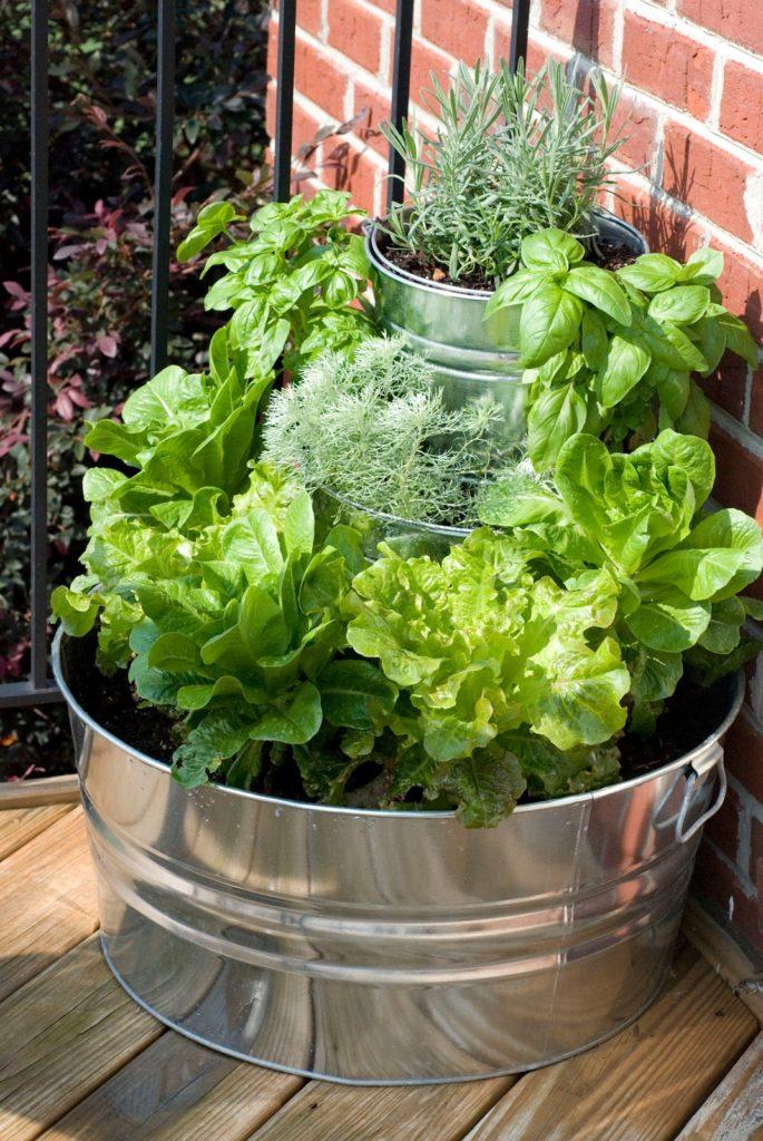 16 id es pour cr er un petit potager sur son balcon page 2 sur 2 des id es - Faire un jardin sur son balcon ...