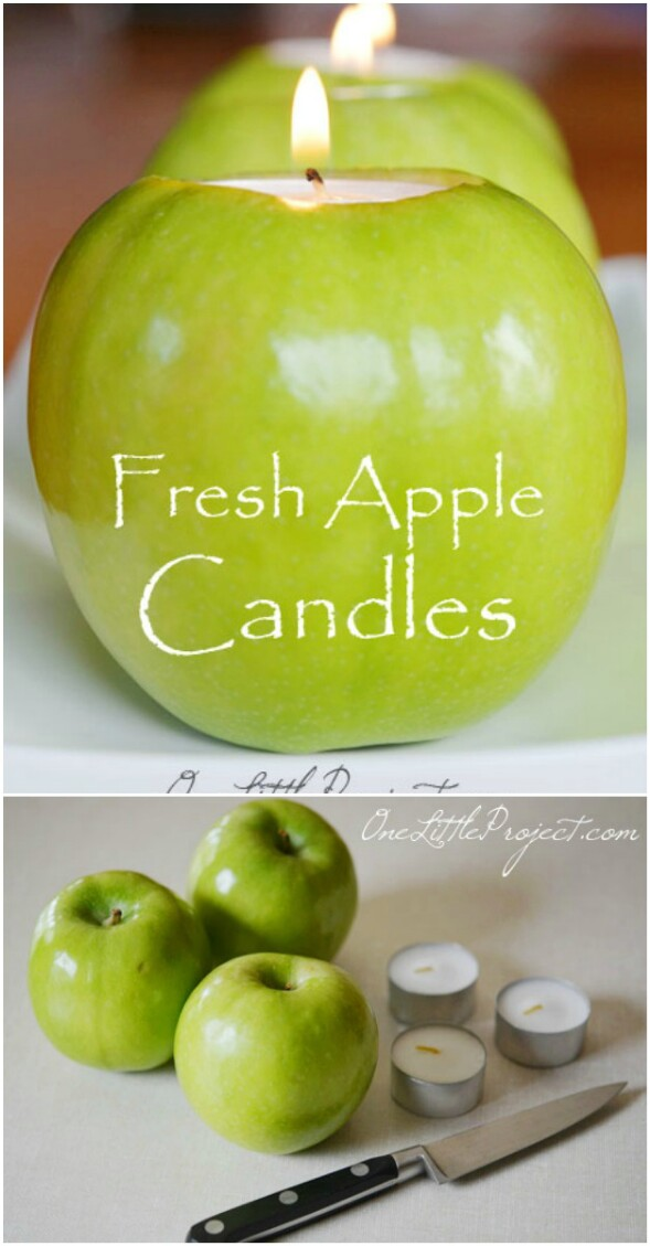 5-apple-candle