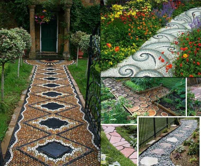 24 magnifiques all es de jardin qui subliment les coins de verdure des id es. Black Bedroom Furniture Sets. Home Design Ideas
