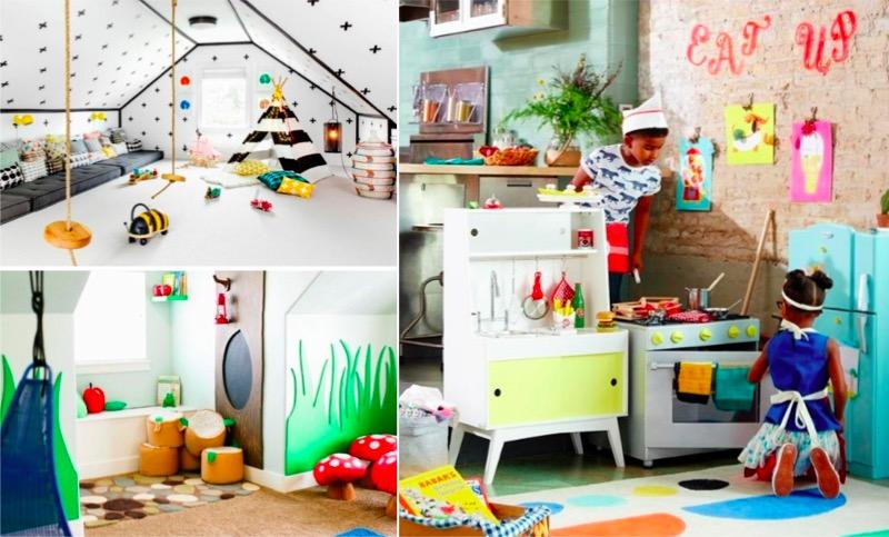22 salles de jeux qui feraient r ver tous les enfants des id es. Black Bedroom Furniture Sets. Home Design Ideas
