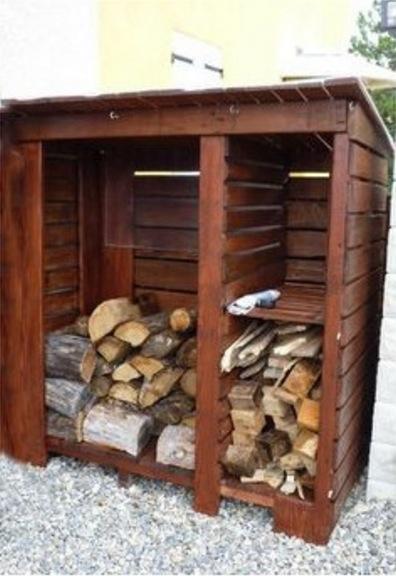 38 nouvelles id es pour stocker votre r serve de bois page 2 sur 4 des id es. Black Bedroom Furniture Sets. Home Design Ideas