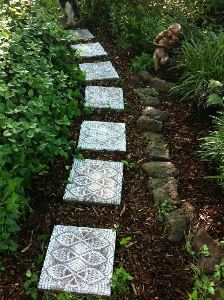 24 magnifiques all es de jardin qui subliment les coins de - Amenagement allee de jardin ...