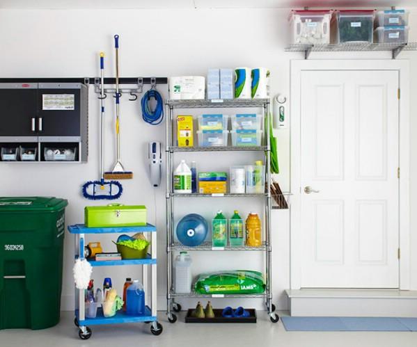 18 id es de rangements pour un garage d sencombr et - Idee de rangement pour garage ...
