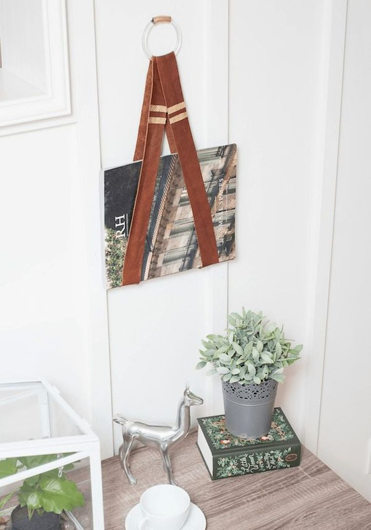 astuce-rangement-livres-objet-cuir