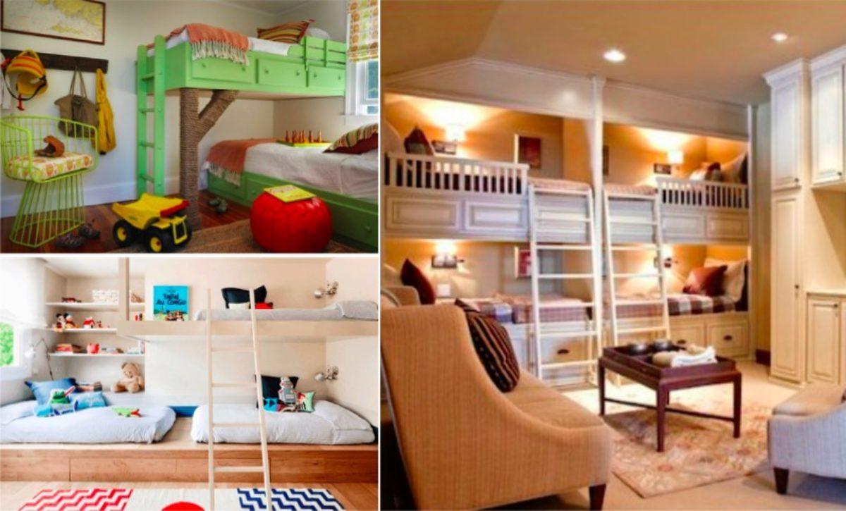 Partage Chambre Fille Garcon 30 idées pour aménager une chambre partagée par plusieurs