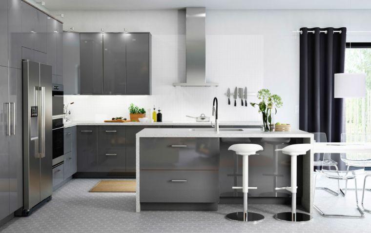 cuisine-ikea-grise-exemple-modele