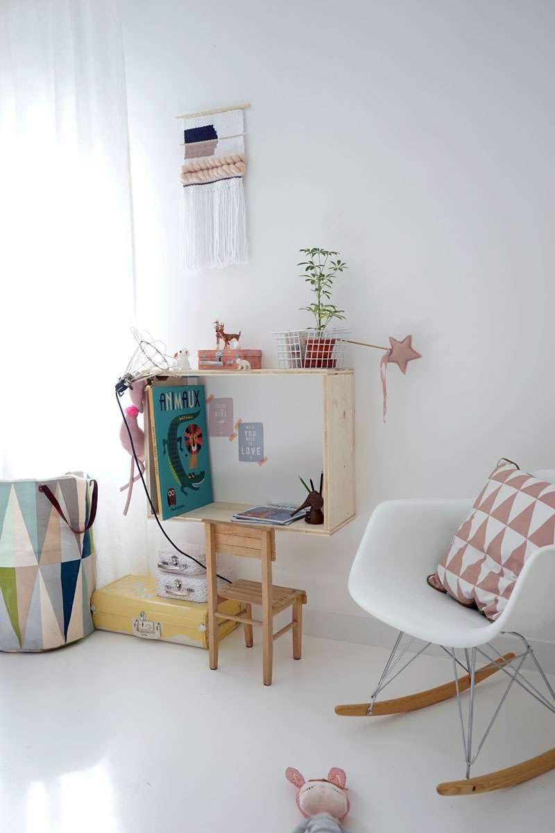 20 id es de bureaux diy pour tous les types d 39 espaces et d - Comment ranger son bureau de chambre ...
