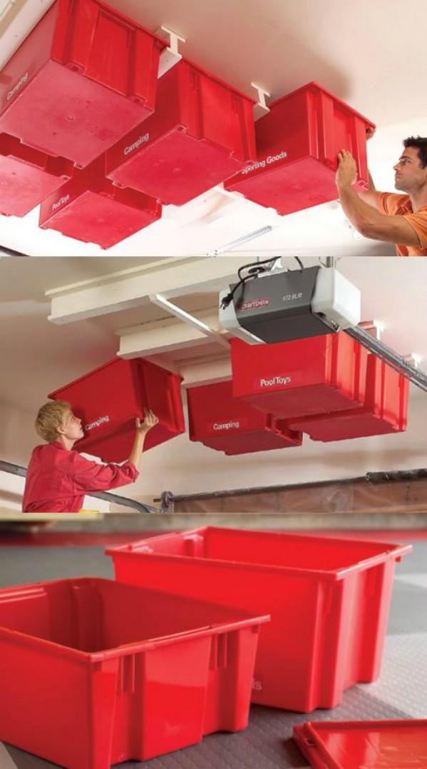 18 id es de rangements pour un garage d sencombr et organis page 2 sur 3 des id es. Black Bedroom Furniture Sets. Home Design Ideas