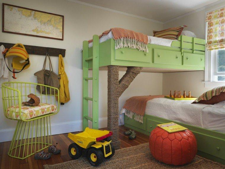 30 id es pour am nager une chambre partag e par plusieurs. Black Bedroom Furniture Sets. Home Design Ideas