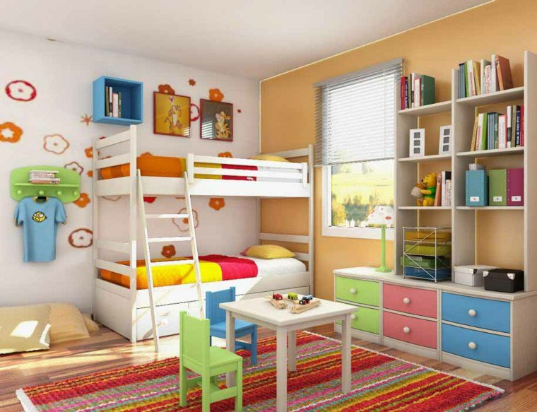 Emejing Chambre Mixte Enfant Ideas - Design Trends 2017