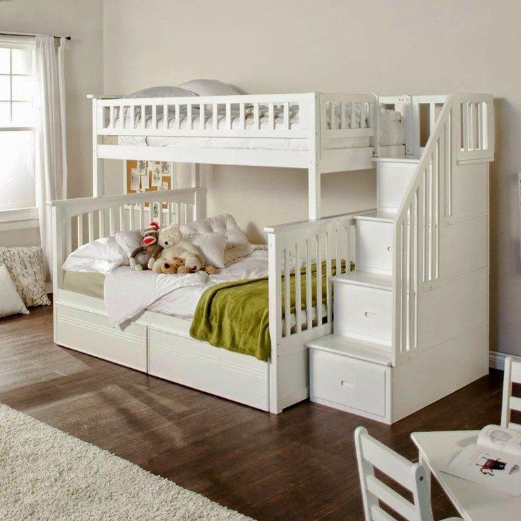Idées Pour Aménager Une Chambre Partagée Par Plusieurs Enfants - Decor pour garcon et fille chambre partagee