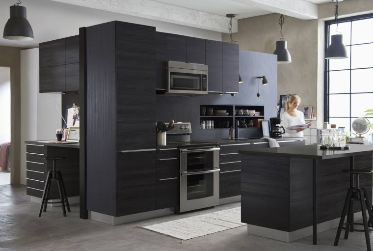 with ikea modele cuisine. Black Bedroom Furniture Sets. Home Design Ideas