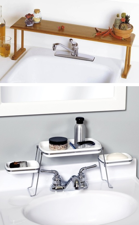 28-above-the-faucet-shelf-creates-extra-counter-space-29-sneaky-tips-for-small-space-living