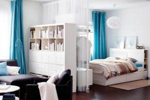 3-deco-studio-20m2-amenager-un-studio-en-blanc-et-bleu-sol-en ...