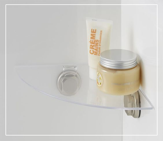 15 id es de rangements astucieux pour votre salle de bain for Etagere pour douche italienne