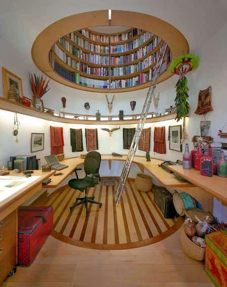 7-bibliotheque-plafond-design