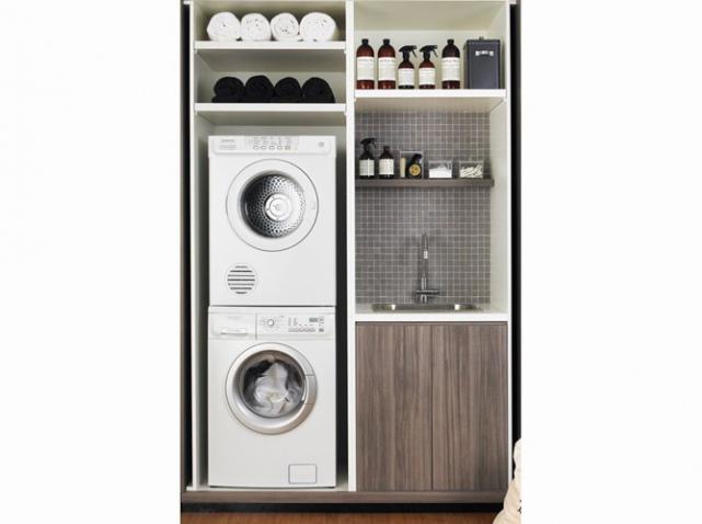 integrer machine a laver_w641h478 - Integrer Machine A Laver Dans Salle De Bain