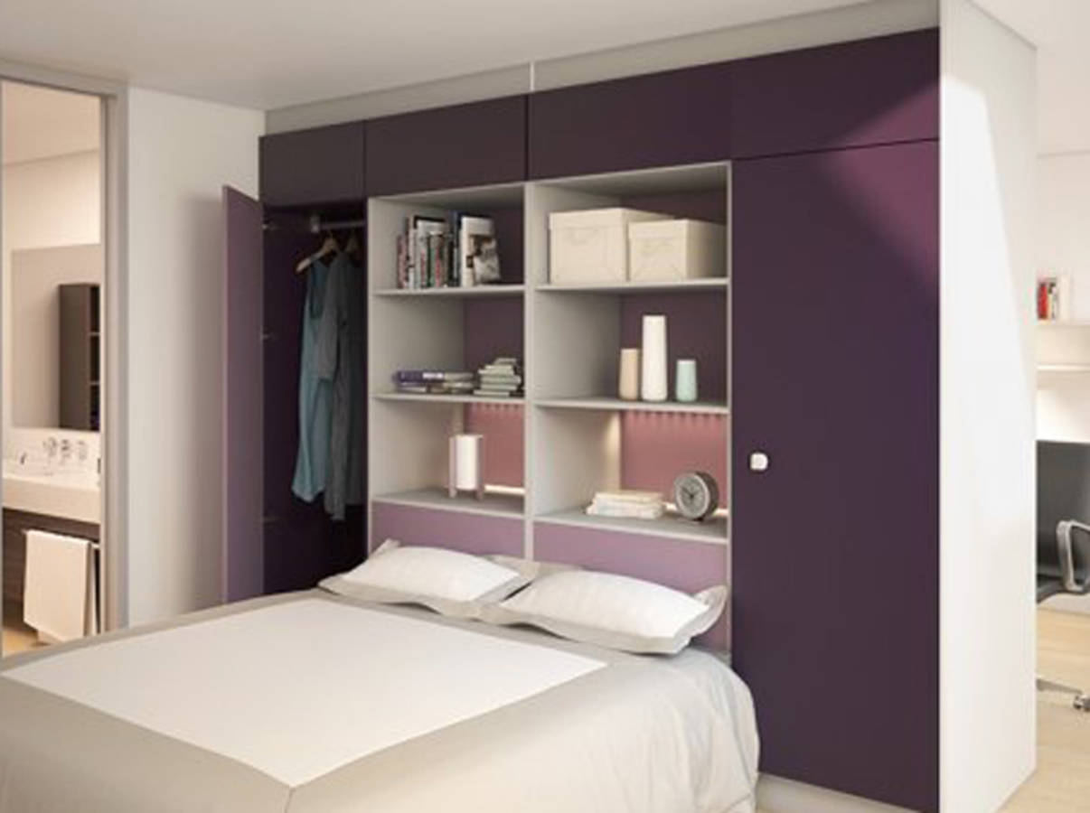 15 id es de dressing pour un petit appartement page 2 sur 3 des id es. Black Bedroom Furniture Sets. Home Design Ideas
