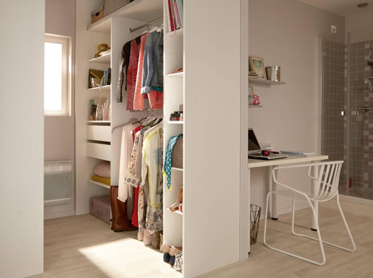 15 id es de dressing pour un petit appartement page 3 sur 3 - Comment faire un dressing dans une chambre ...