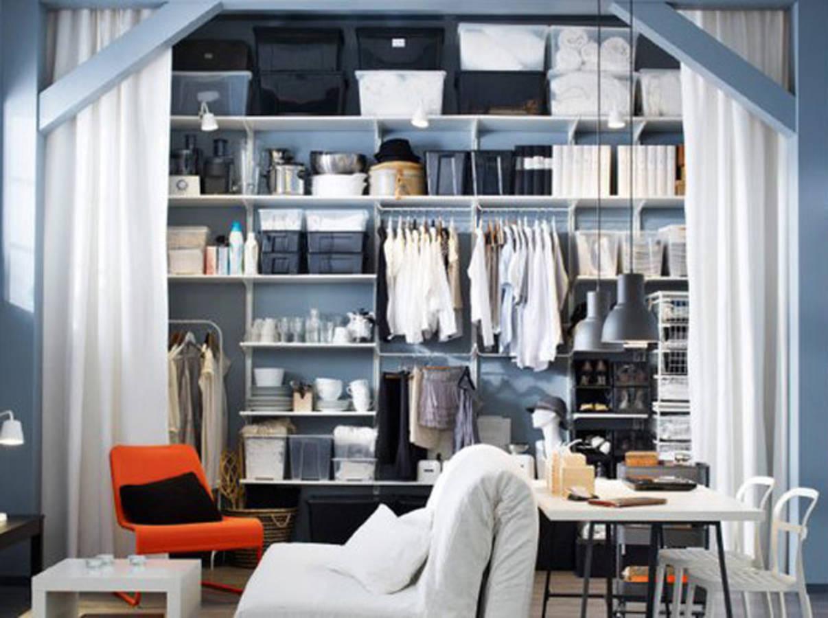15 id es de dressing pour un petit appartement page 3. Black Bedroom Furniture Sets. Home Design Ideas