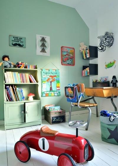 12 jouets vintage pour décorer la chambre de votre enfant - Des idées