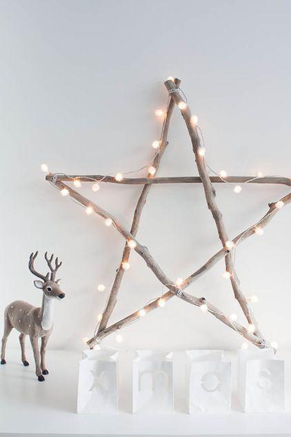 Branches Guirlande Lumineuse Deco Noel Pas Cher