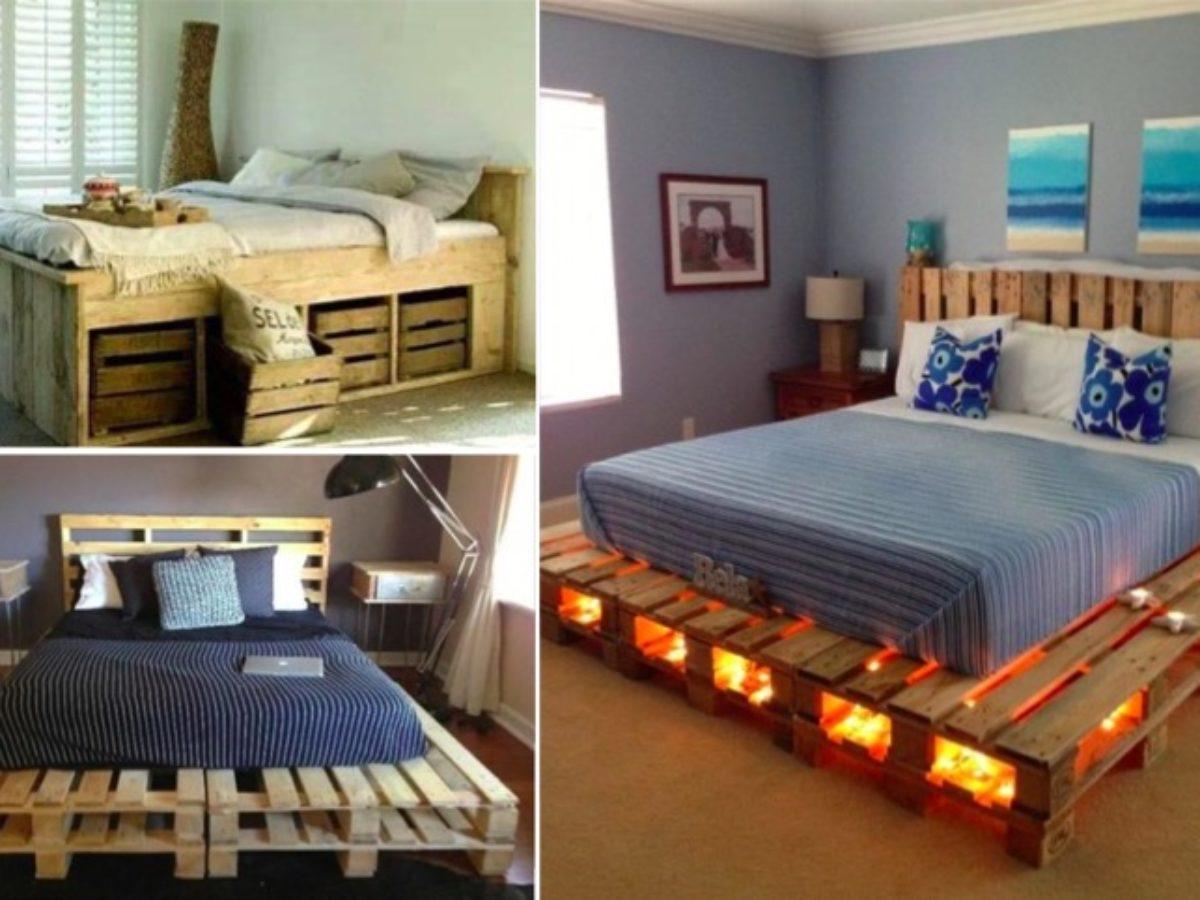 Fabriquer Un Lit En Bois 30 idées de lits en palette pour votre chambre