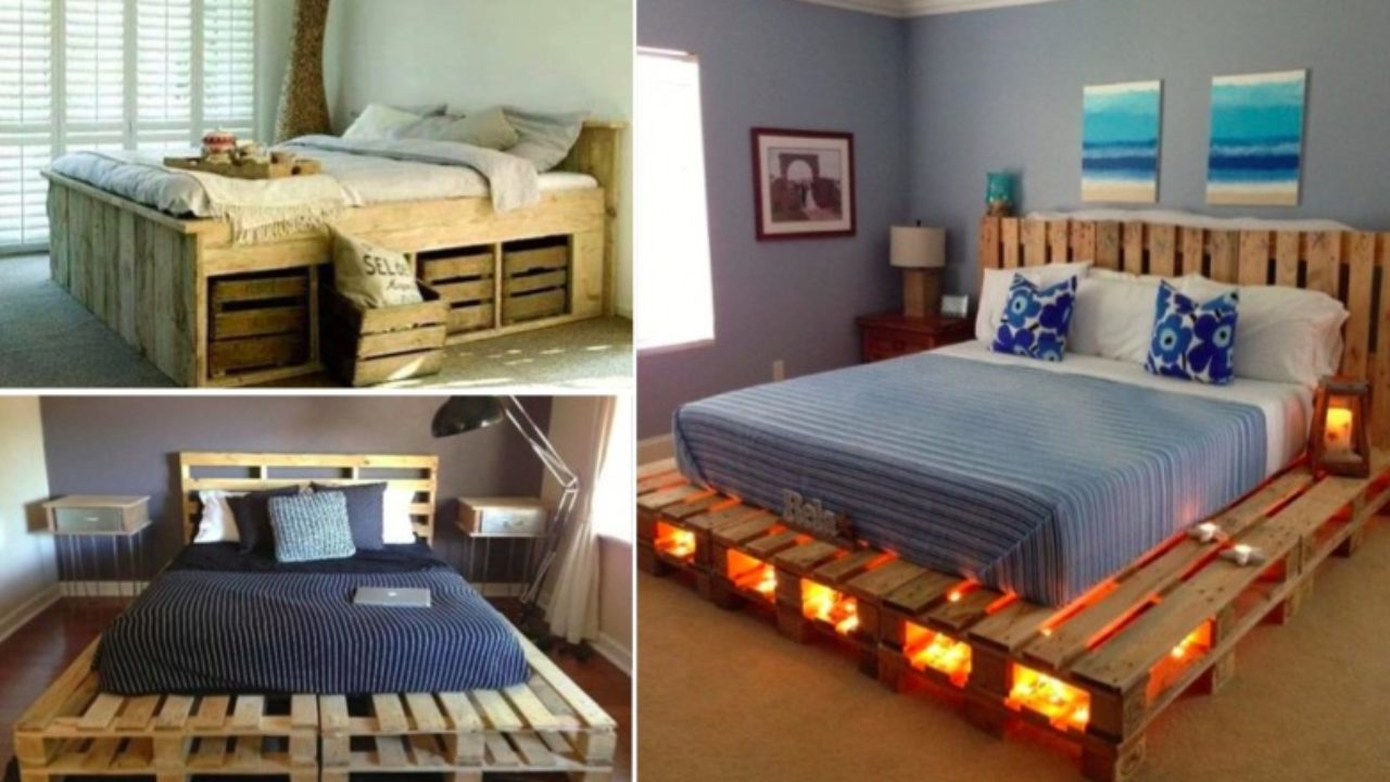 30 idées de lits en palette pour votre chambre