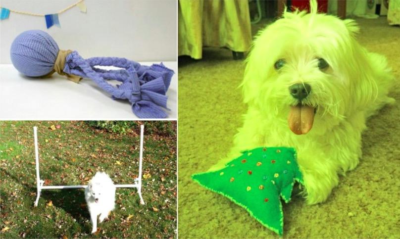 20 jouets fabriquer soi m me rien que pour vos chiens page 4 sur 4. Black Bedroom Furniture Sets. Home Design Ideas