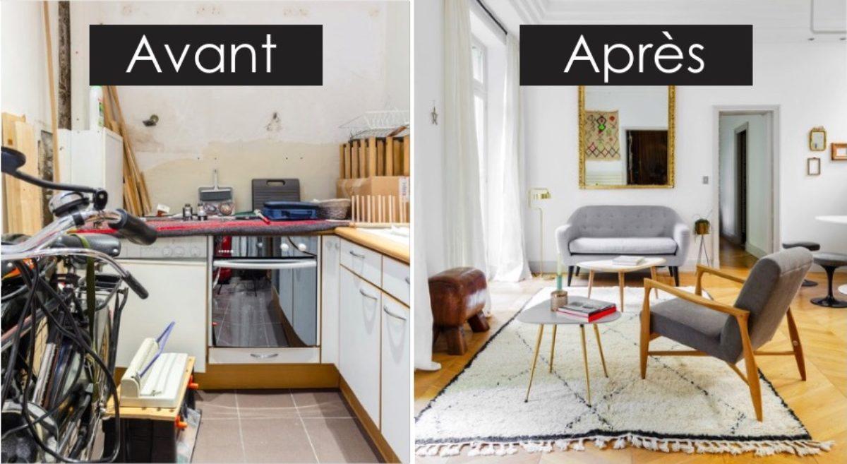 Relooking Appartement Avant Après avant - après : le home staging a complètement transformé