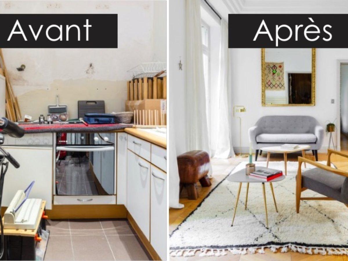 Relooking Maison Avant Apres avant - après : le home staging a complètement transformé