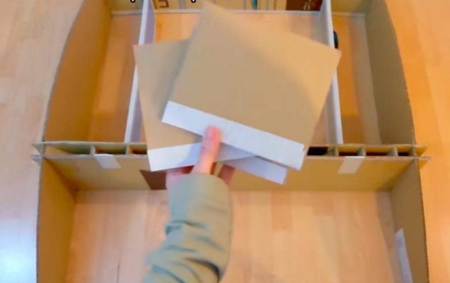 Comment Fabriquer Un Meuble En Carton Recycl Pour Votre Ordinateur