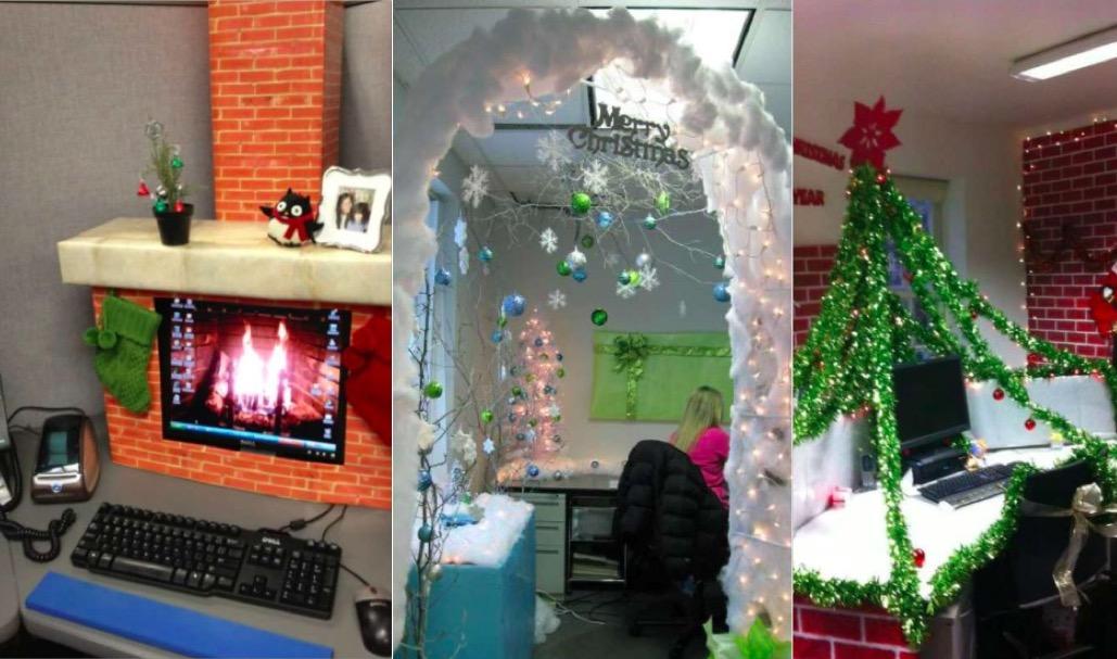 Idées pour décorer votre bureau aux couleurs de noël des idées