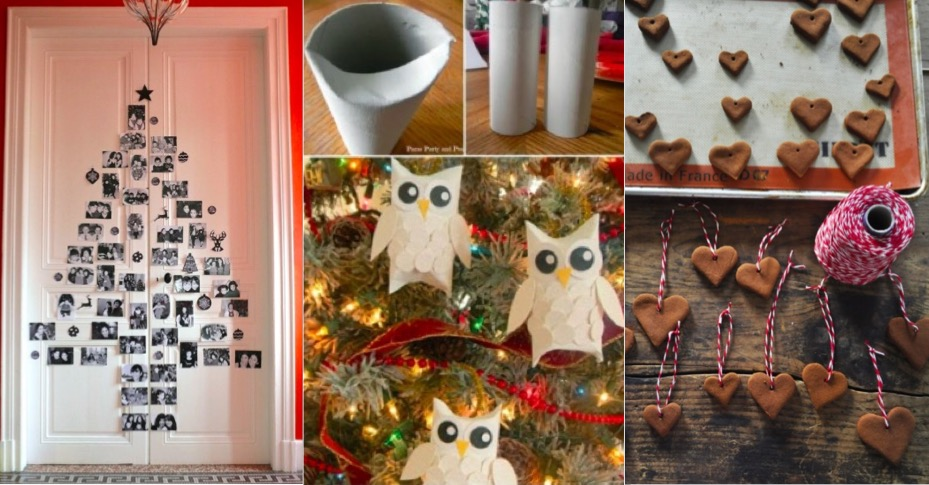 17 d corations de no l faire avec vos enfants - Decoration de noel a faire avec des enfants ...
