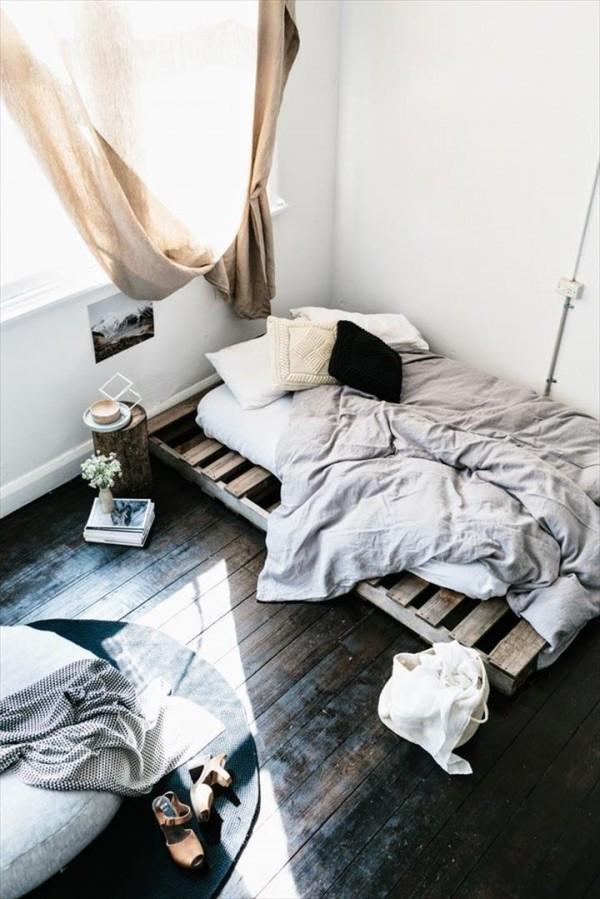 30 Idées De Lits En Palette Pour Votre Chambre Des Idées