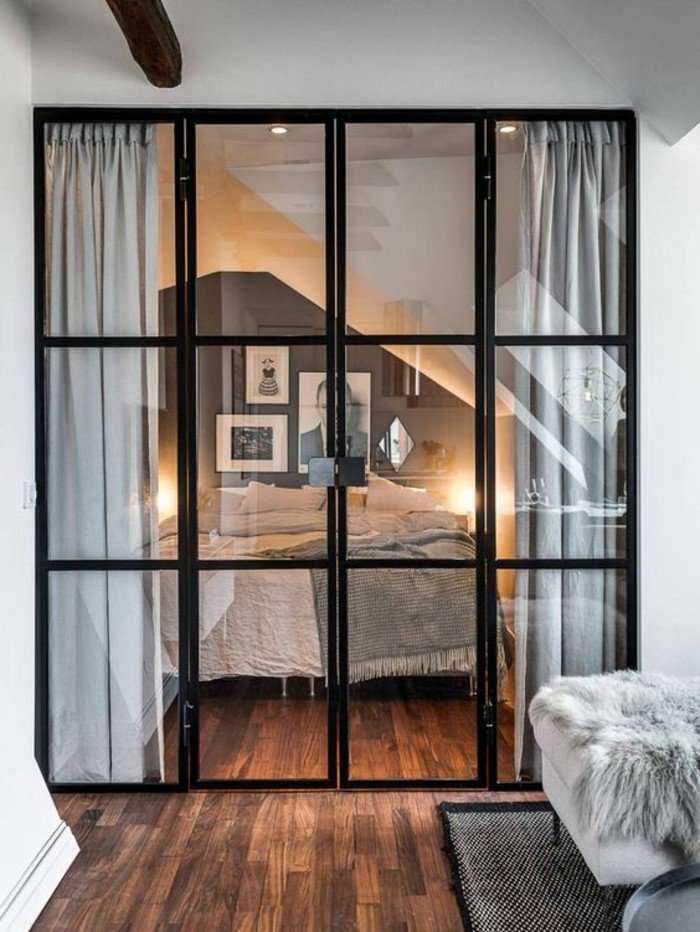 50 id es pour am nager un petit studio page 3 sur 5. Black Bedroom Furniture Sets. Home Design Ideas