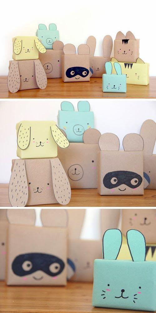 24 mani res originales d 39 emballer vos cadeaux des id es - Paquet cadeau original ...