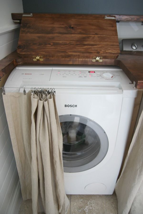 rideau-pour-cacher-machine-a-laver