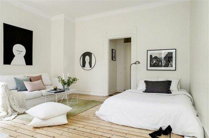50 id es pour am nager un petit studio page 5 sur 5. Black Bedroom Furniture Sets. Home Design Ideas