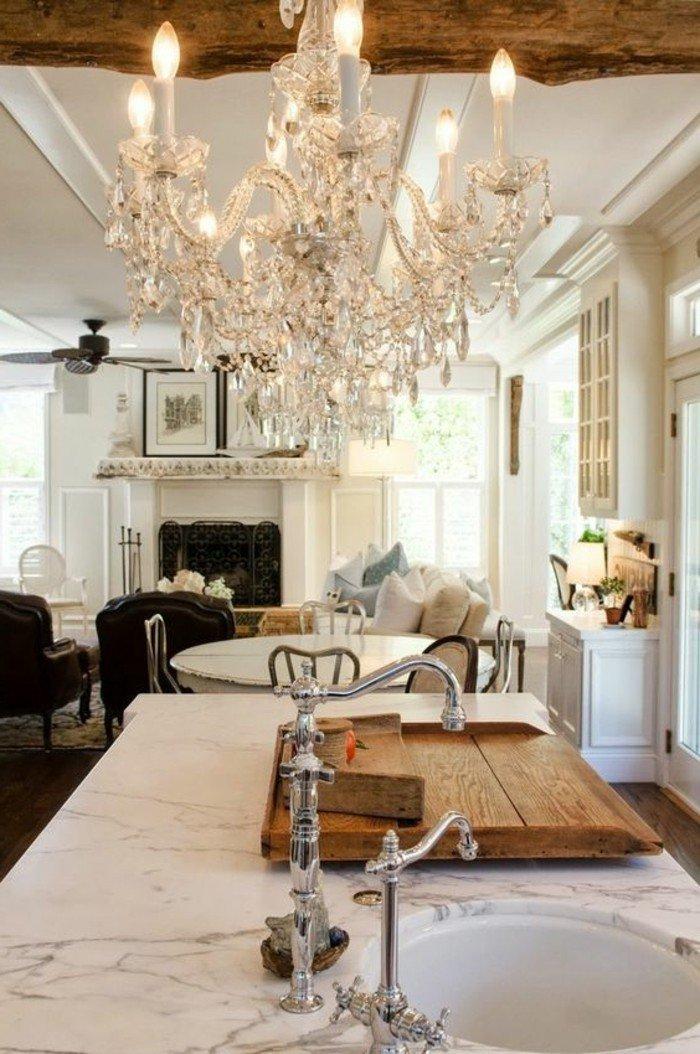00-cuisine-avec-lustre-romantique-pas-cher-design-lustre-en-crystal