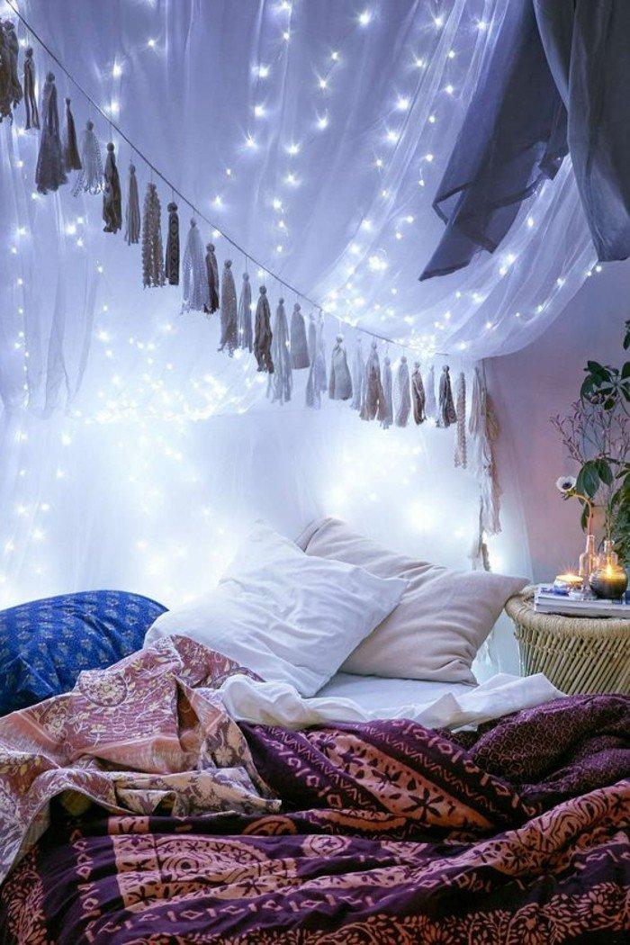 58 manières de créer un éclairage romantique à vos pièces