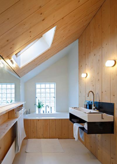 10 exemples r ussis de salle de bain sous les combles - Salle de bain dans combles ...
