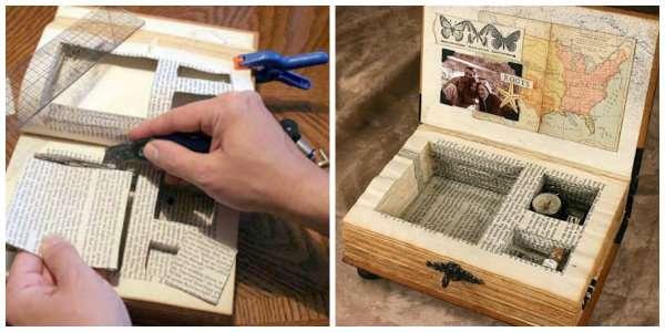 15 mani res de recycler vos vieux livres page 2 sur 3 des id es. Black Bedroom Furniture Sets. Home Design Ideas