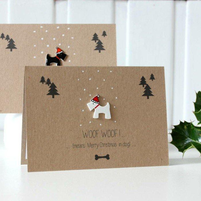 42 Idées De Cartes Joyeux Noël à Offrir à Vos Proches