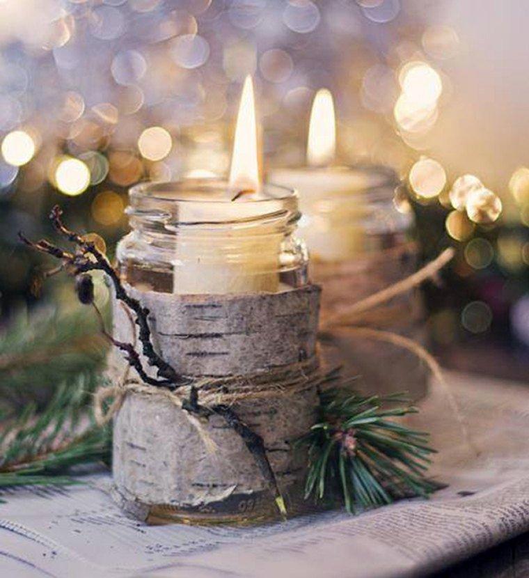 Assez 35 idées pour transformer des pots en verre en décorations de Noël  BB98