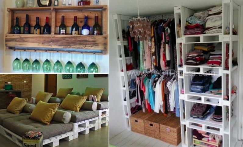 16 mani res insolites d 39 utiliser des palettes en bois chez vous des id es. Black Bedroom Furniture Sets. Home Design Ideas