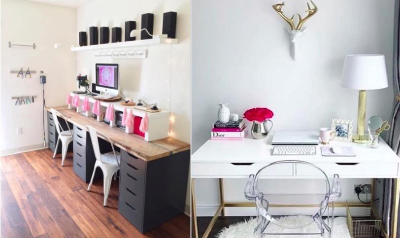 17 bureaux qui vont vous donner envie de travailler page 2 sur 3 des id es. Black Bedroom Furniture Sets. Home Design Ideas