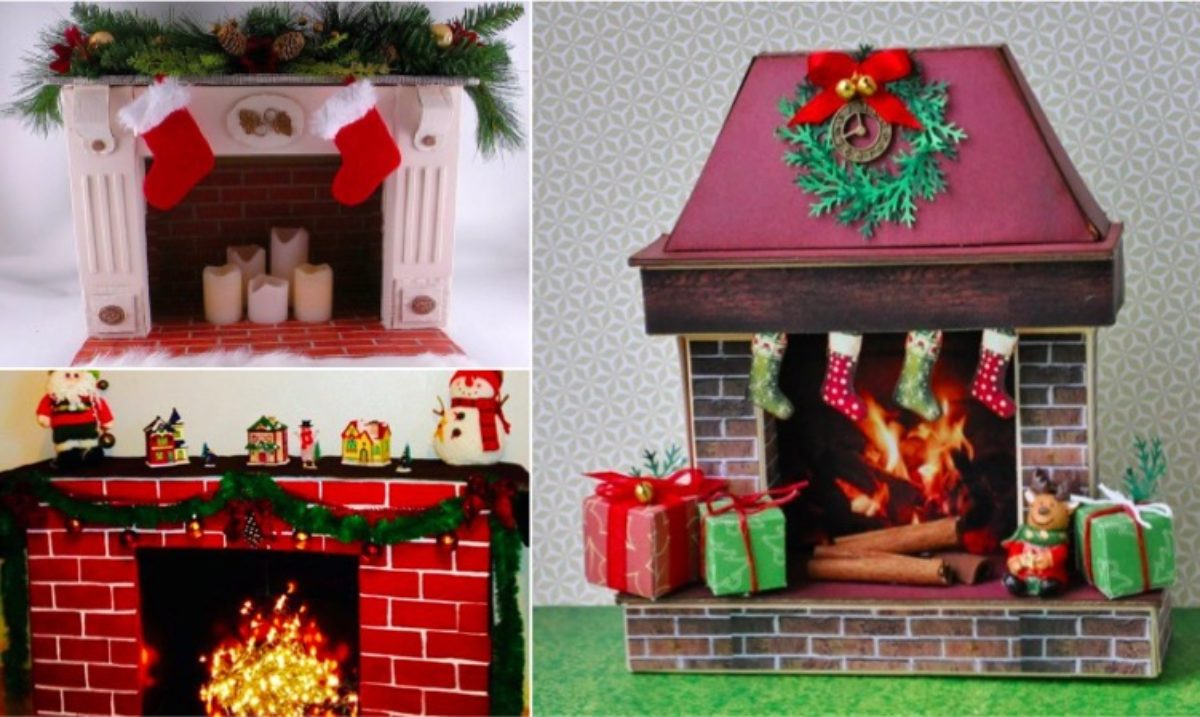 40 Idees De Fausse Cheminee Pour Noel