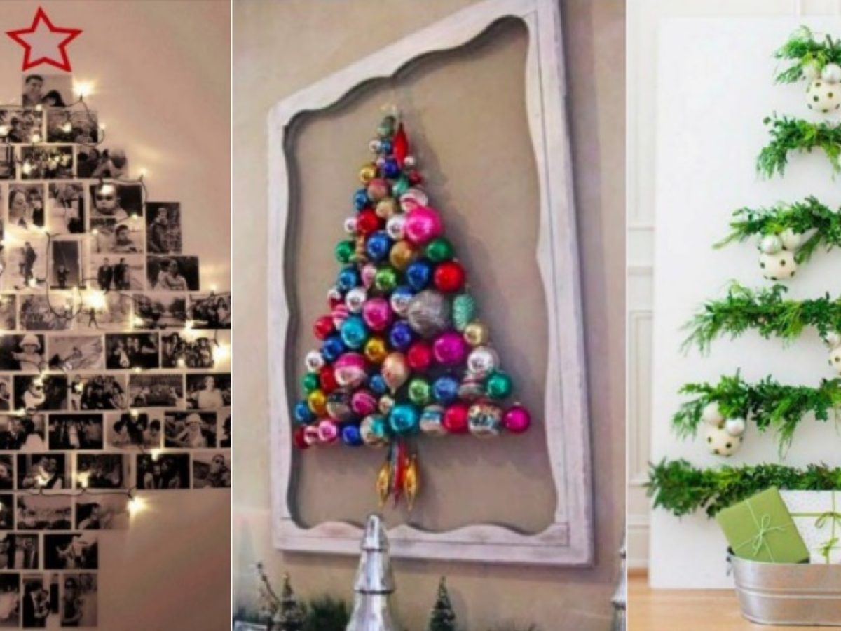 Sapin De Noel Sur Le Mur 15 idées de sapins de noël à fabriquer vous-même